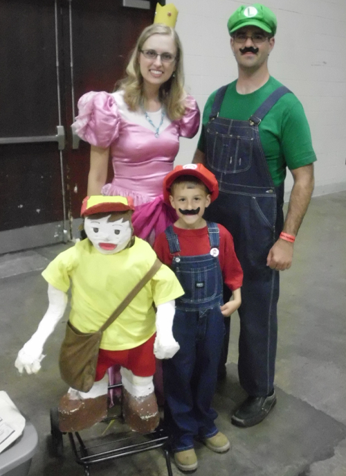 Super Mario Brothers Princess Peach